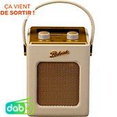 Radio numérique Roberts Revival Mini Pastel Crème