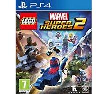 Jeu PS4 Warner Lego Marvel Super Heroes 2