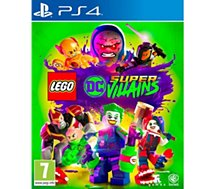 Jeu PS4 Warner  Lego DC Super Vilains