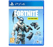 Jeu PS4 Warner Fortnite Pack Froid Eternel