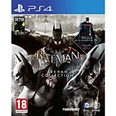Jeu PS4 Warner Batman Arkham Collection