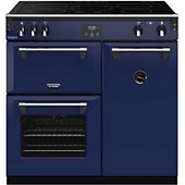 Piano de cuisson induction Stoves RICHMOND DELUXE 90 EI BLEU OUTREMER