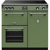 Piano de cuisson induction Stoves RICHMOND DELUXE 90 EI VERT SOHO