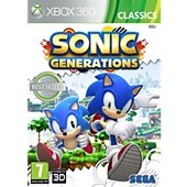 Jeu Xbox 360 Sega Sonic Generations