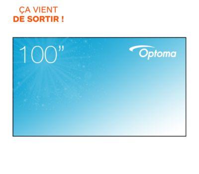 Ecran de projection Optoma ALR101