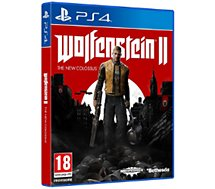 Jeu PS4 Bethesda Wolfenstein 2 The New Colossus