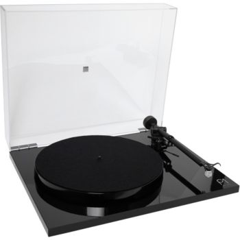 Rega Planar 1 Plus noir brillant