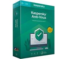 Logiciel antivirus et optimisation Kaspersky  Antivirus 2020 (3 Postes / 1 An)