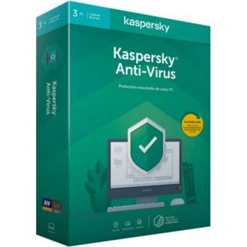 Kaspersky Antivirus 2020 (3 Postes / 1 An)
