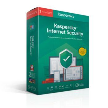 Kaspersky Internet Security 2020 (3 Postes / 1 An)