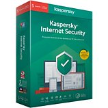 Logiciel antivirus et optimisation Kaspersky  Internet Security 2020 (5 Postes / 1 An)