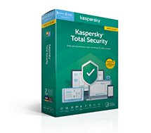 Logiciel antivirus et optimisation Kaspersky  Total Security 2020 MAJ (5 P / 1 An)