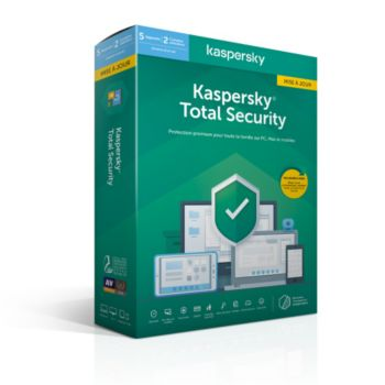 Kaspersky Total Security 2020 MAJ (5 P / 1 An)
