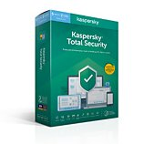 Logiciel antivirus et optimisation Kaspersky  Total Security 2020 (5 Postes / 1 An)