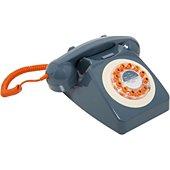 Téléphone filaire Wild & Wolf 746 Gris