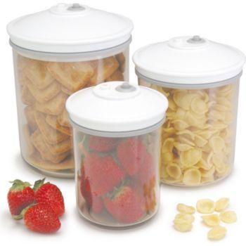 Food Saver FSC003 : 3 bocaux (0.7 /1.42 /2.37 L)
