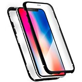 Coque Qdos iPhone Xr noir