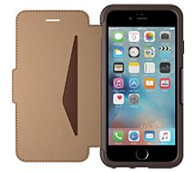 Etui Otterbox iPhone 6/6s STRADA cuir marron anti-choc