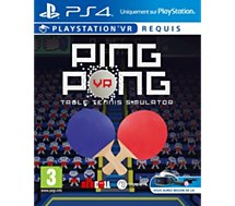Jeu PS4 Just For Games Jeu VR Ping Pong Table Tennis Simulator