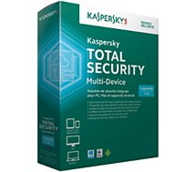 Logiciel antivirus et optimisation Kaspersky Total Security Multi-Device 2016 5postes