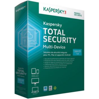 Kaspersky Total Security Multi-Device 2016 5postes