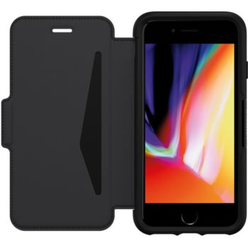 Otterbox iPhone 7/8/SE Strada cuir noir