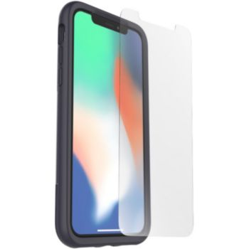 Otterbox iPhone X/Xs Coque night + Verre trempé
