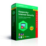 Logiciel antivirus et optimisation Kaspersky Internet Security 2018 1 Poste /1 An Maj