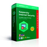 Logiciel antivirus et optimisation Kaspersky Internet Security 2018 3 Postes / 1 An