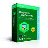 Logiciel antivirus et optimisation Kaspersky Total Security 2018 5 Postes / 1 An