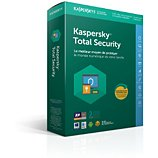Logiciel antivirus et optimisation Kaspersky Kaspersky Total Security 2018 (5 P/2ans)