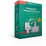 Logiciel antivirus et optimisation Kaspersky Internet Security 2019 (1 Poste / 1 An)