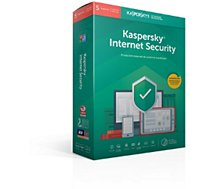 Logiciel antivirus et optimisation Kaspersky  Internet Security 2019 (5 Postes / 1 An)