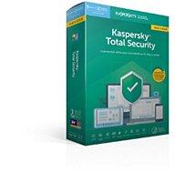 Logiciel antivirus et optimisation Kaspersky  Total Security 2019 Mise à jour (5 P/1An