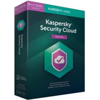 Kaspersky Security Cloud Personal (5 Postes /1 An)