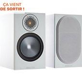 Enceinte bibliothèque Monitor Audio Bronze 50 Blanc