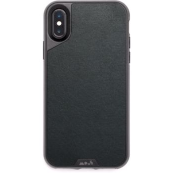Mous iPhone Xs Max Cuir noir