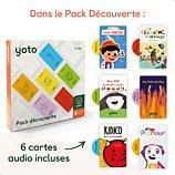 Jeu éducatif Yoto  Pack Découverte 6 cartes