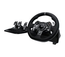Volant + Pédalier Logitech  G920 driving force XBOX one/PC