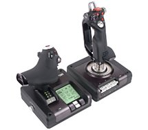 Simulateur de vol Saitek X52 Pro Flight Control