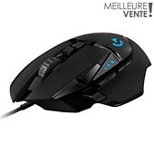 Souris gamer Logitech G502 Hero High Performance