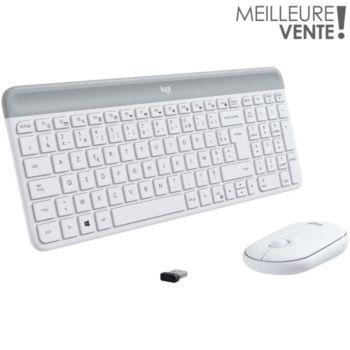 Logitech MK470 Blanc