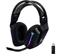 Casque gamer Logitech  G733 Lightspeed Black