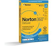 Logiciel antivirus et optimisation .  Norton 360 Deluxe 25Go 3 postes
