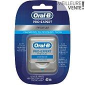 Fil dentaire Oral-B Fil Dentaire Pro-Expert Premium 40m