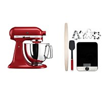 Robot pâtissier Kitchenaid  Pack Artisan 5KSM125EER kit patisserie