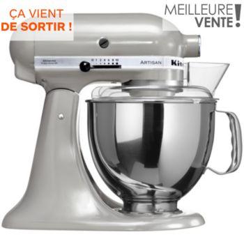 Kitchenaid 5KSM150PSEMC ARTISAN Chromé