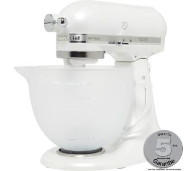 Robot pâtissier Kitchenaid 5KSM156 EFP ARTISAN BLANC GIVRE