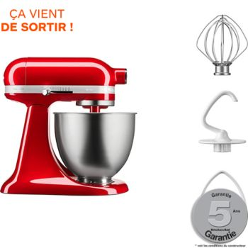 kitchenaid mini 5ksm3311xeca pomme d 39 amour robot p tissier boulanger. Black Bedroom Furniture Sets. Home Design Ideas