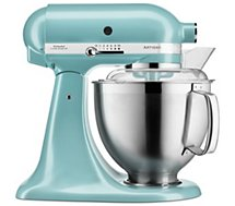 Robot pâtissier Kitchenaid 5KSM185PSEAZ ARTISAN bleu azur